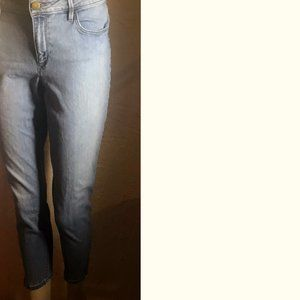 LOFT Lt Wash Skinny Blue Jeans Size  M